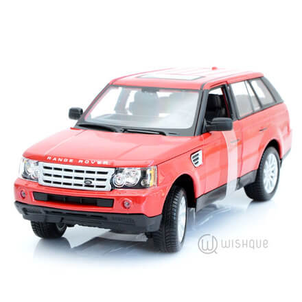"Range Rover Sport Metallic Red ""Official Licensed Product"""