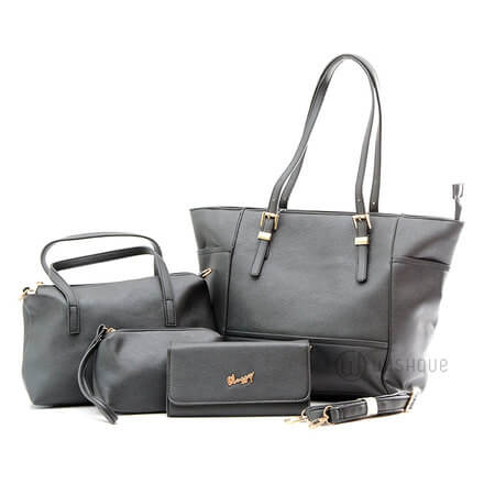 Classy Black Tote 4 Pieces Collection