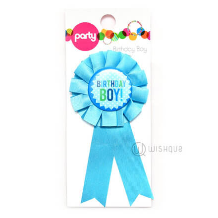 Birthday Badge - Boy