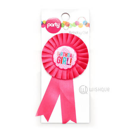 Birthday Badge - Girl