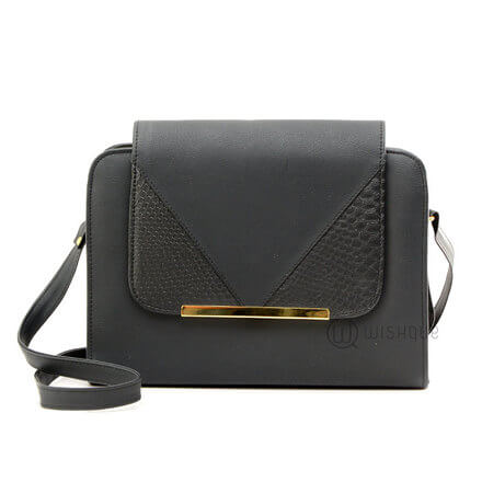 Black Box Shape Handbag