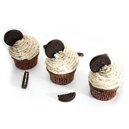 Oreo Cookie Cream Cupcake Pack Of 6