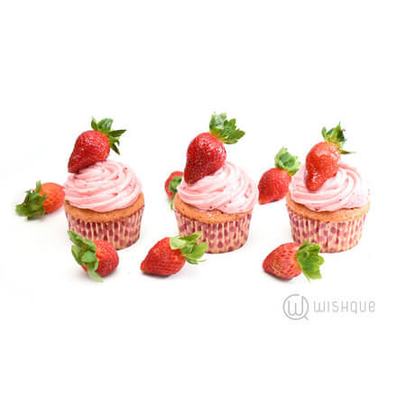 Strawberry Cupcake 6 Pack