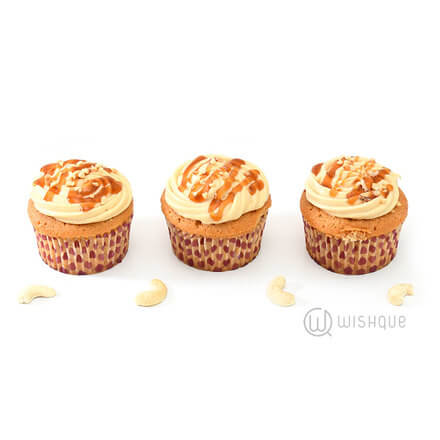 Salted Caramel Cupcake Pack Of 6