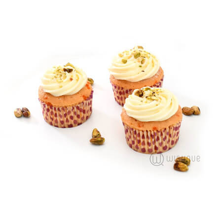 Pistachio and Almond Cupcake 6 Pack
