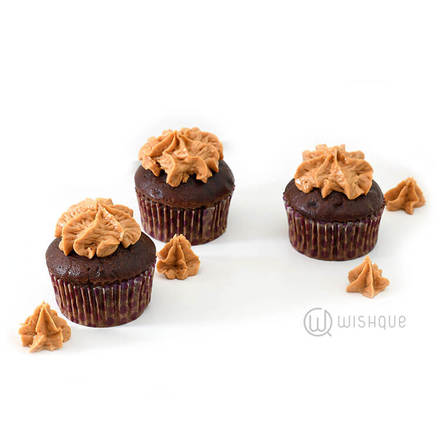 Peanut Butter Chocolate Cupcake Pack Of 6