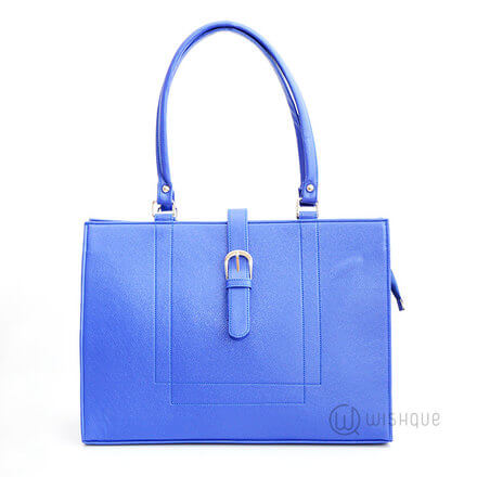 Buckle Front Royal Blue Bag