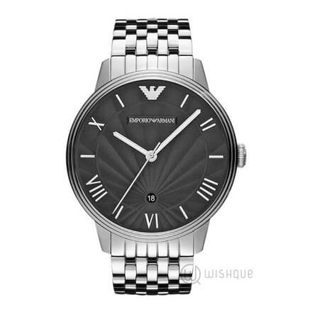 Emporio Armani Classic Stainless Steel Black Men's Watch AR1614