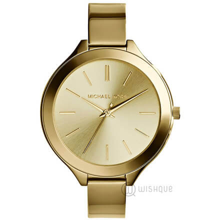 MICHAEL KORS Slim Runway Champagne Watch MK3275
