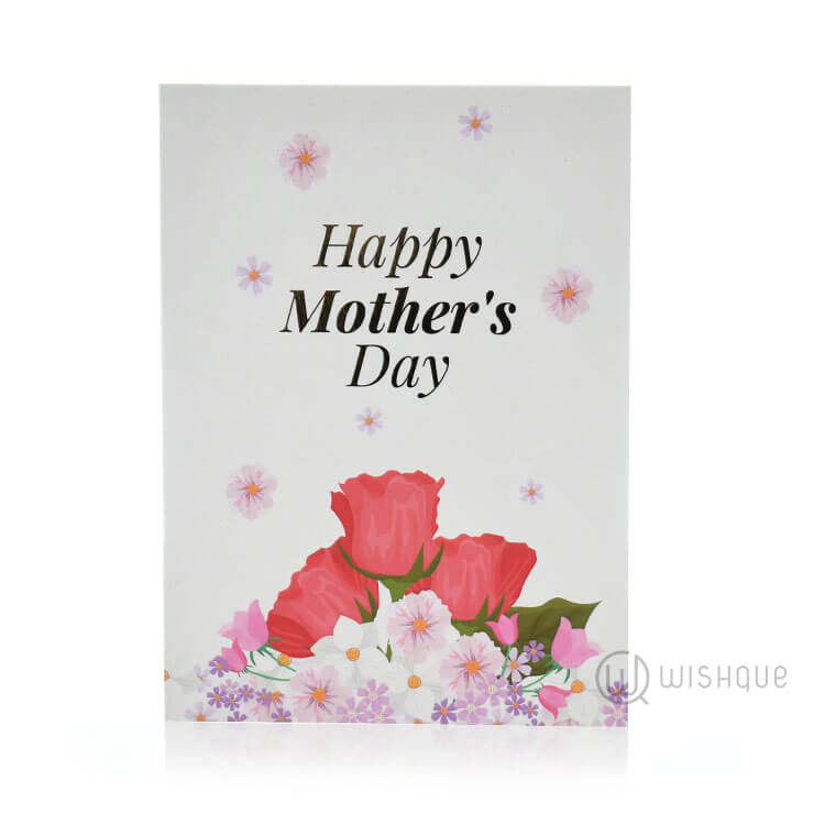 Happy mothers day floral greeting card wishque sri lankas happy mothers day floral greeting card m4hsunfo