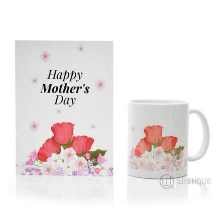 Happy Mother's Day Floral Gift Set