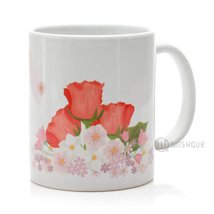 Happy Mother's Day Floral Mug