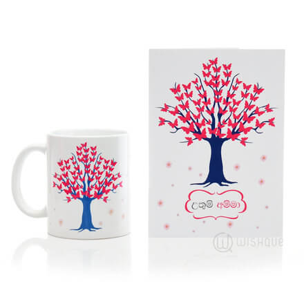 Uthum Amma Printed Mug & Greeting Card