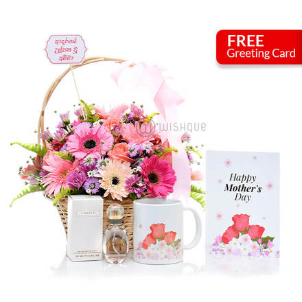 Fairy Garden and Floral Gift Set for Mom