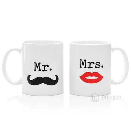 Mr & Mrs Couple Mug