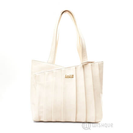 Kate Hill White Frill Revolution Handbag