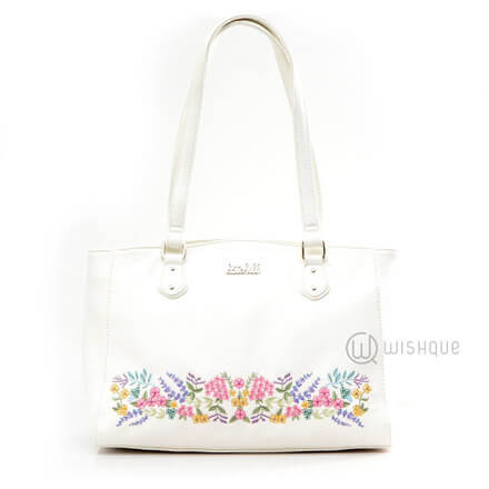 Kate Hill Alyson Embroid Floral TOTE W17