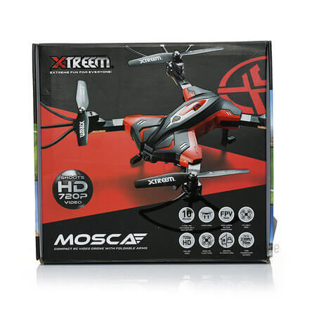 Xtreem Mosaca RC Drone with Camera: 720p HD Wi-Fi Video Camera