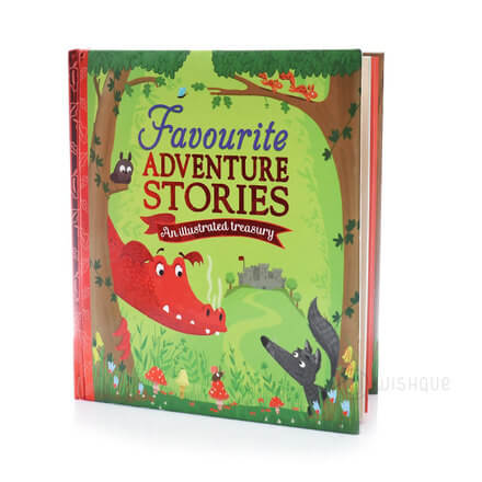 Favourite Adventure Stories - An Illustrated Treasury