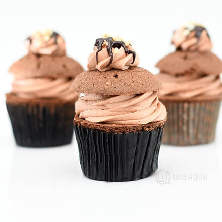 Chocolate Nut Cupcake Pack of 6