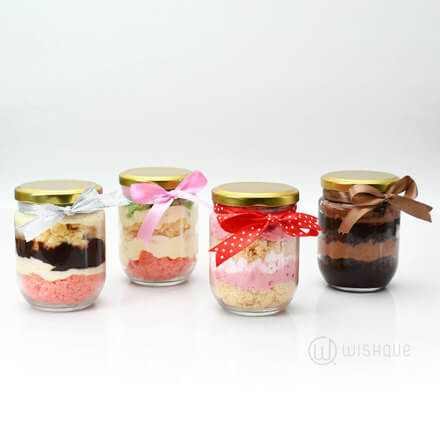 Cake Jar Variety Pack - 4 Jars
