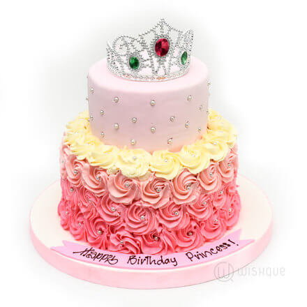 Princess Two Tier cake