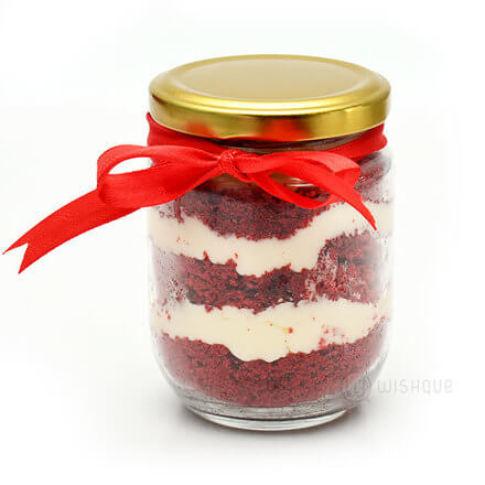 Red Velvet Cake Jar 3 Pack
