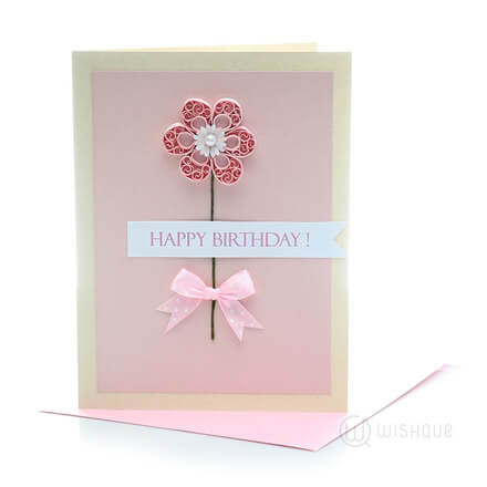 Elderflower Birthday Card