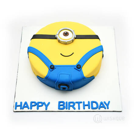 Stuart the Minion Cake