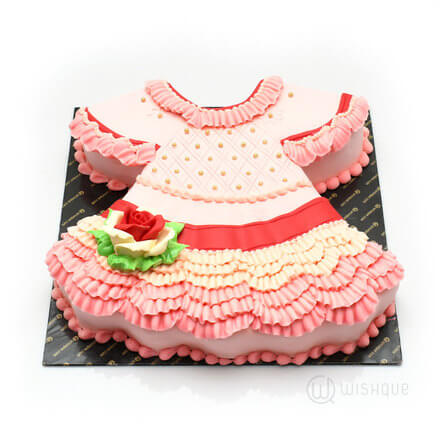 Pinkie Pie Dress Cake