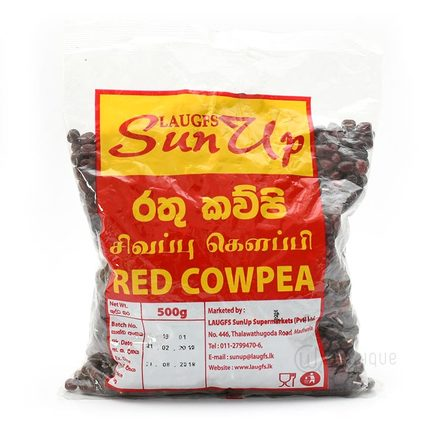 Sunup Red Cowpea 500g