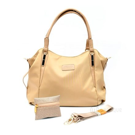 Saggy Beige Handbag