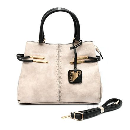 Beige Delight Handbag