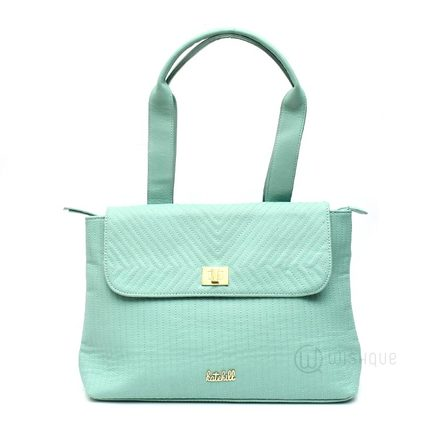 Kate Hill Savannah Cyan TOTE W16