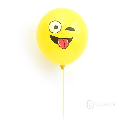 Silly Face Emoji Balloon
