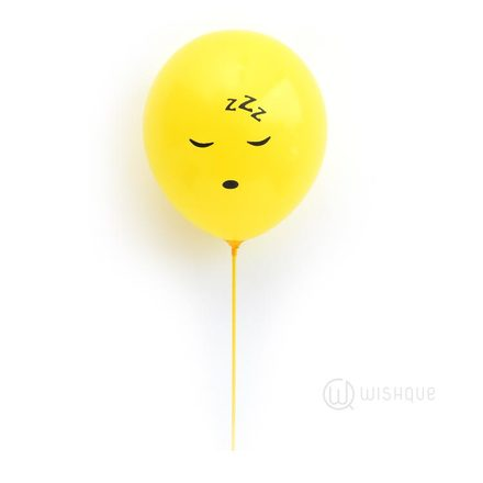 Sleepy Emoji Balloon