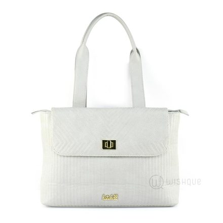 Kate Hill Savannah Grey TOTE W16