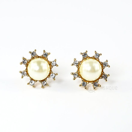 Earrings Gold Colour