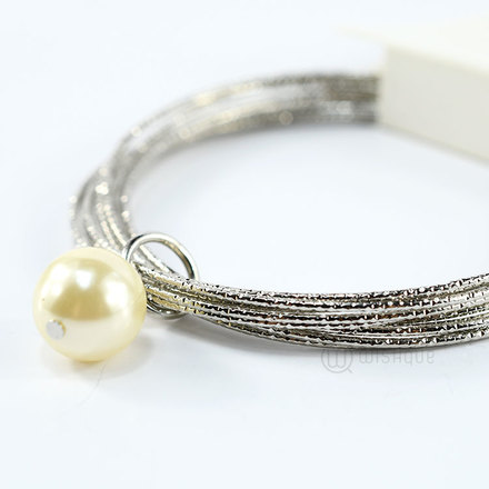 Bangle With A Bead