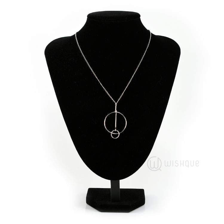 Loop Necklace Silver