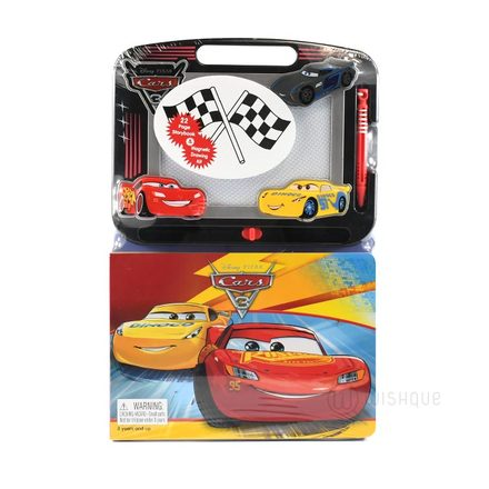 Disney Pixar Cars Learn To Write - Learning Book with Magnetic Drawing Pad