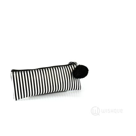Pencil Case - Black Stripes
