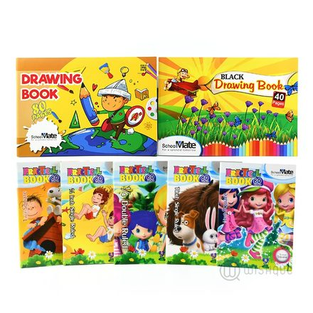 Nursery & Grade 01- Book Pack