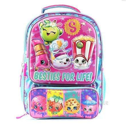 Shopkins Besties For Life Secondary School Backpack