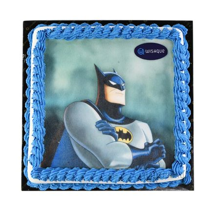 Custom Edible Print Cake - Batman