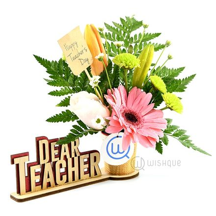 Dear Teacher, With Love Souvenir