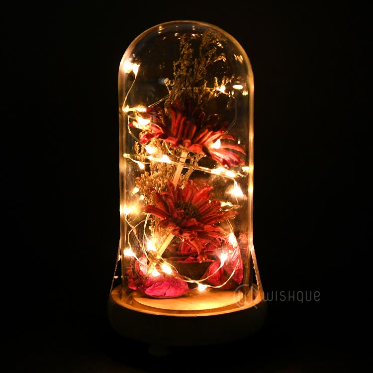 Fairy lights Preserved Flower