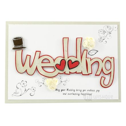 """Wedding"" Greeting Card"