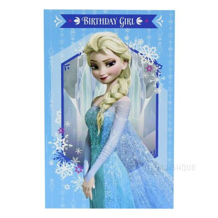 Be Elsa On Your Birthday Greeting Card