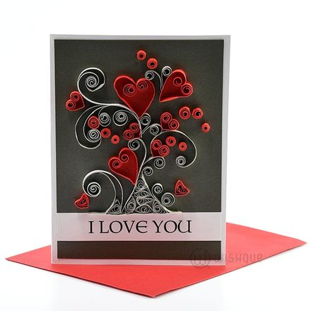Love Tree 'Love You' Greeting Card